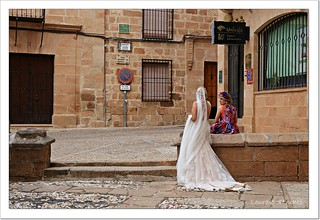 De charla tras la boda- Baños de la Encina- Jaén