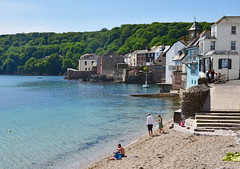The beach at Kingsand, Cornwall (Baz Richardson (now away until 20 July)) Tags: cornwall kingsand cawsand cawsandbay plymouthsound villages sandybeaches