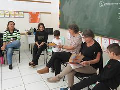 "Visita das autoras Maria Eliza e Nilza Siqueira • <a style=""font-size:0.8em;"" href=""http://www.flickr.com/photos/134435427@N04/40810275440/"" target=""_blank"">View on Flickr</a>"