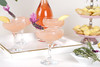 Frosé with Lavender Garnish (ProFlowers.com) Tags: frosé party rosé wine lavender tray serving dessert madeleines rosemary garnish garnishes coupe glass glasses