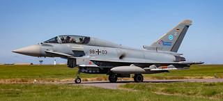 German Luftwaffe Typhoon Eurofighter 98-03