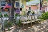 Beat The Heat Seats (John Kocijanski) Tags: chairs sign bench hbm nevada canon18135mmstmlens
