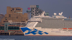 Royal Princess Cruise Liner (Phil Longfoot Photography) Tags: cruise liners holiday vacations england merseyside liverpool wirral heritage sunset