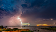 Sunset + Lightning = Win (Michael Seeley) Tags: canon fl florida lake lakewashington landscape lightning melbourne mikeseeley shoreline spacecoast storm stormchasing stormstalkers sunset thunderstorm