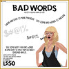 -RC- Bad Words (Redd Columbia) Tags: rc cluster redd columbia secondlife second life fun gag gifts funny cute novelty silly salchicha county