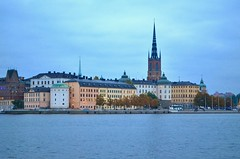 Riddarholm Church at Twilight, Stockholm