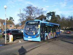 Metrobus No. 6115, registration No. SK66 HTP. (johnzebedee) Tags: bus motorbus metrobus crawley sussex transport publictransport johnzebedee wrightbus wrightbusstreetlite