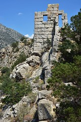 Siphai (orientalizing) Tags: 4thcenturybc archaeologicalsite archaia architecture boiotia fortification greece landscape lateclassical siphai tower walls