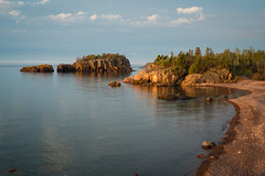 Black Beach, Silver Bay 20180524-DSC07188 (Rocks and Waters) Tags: rocksandwaters loxia250 sonyalpha 1805xxnorthshore a7rii blackbeach blue lake lakesuperior minnesota shore silverbay zeiss a7r2 earlyam goldenhour landscape loxia nature sony spring sunrise water woods