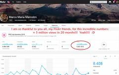 5 Million Views _ 25,5,2018 (marcomariamarcolini) Tags: 5millions marcomariamarcolini record 5mviews