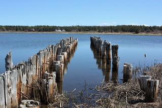 Former Dock- St. Peters Harbour, PEI