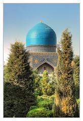Samarqand UZ - Registan Tilya-Kori-Madrasa 14 (Daniel Mennerich) Tags: silk road uzbekistan registan samarqand history architecture hdr