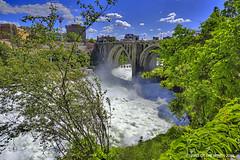 No, No Kayaks, No Whitewater Rafts (jimgspokane) Tags: spokanewashingtonstate spokaneriver spokanefalls rivers bridges waterfalls downtownspokane today´sbest