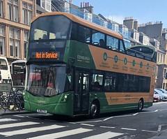 Lothian Buses Edinburgh Tour 232 SJ16 CTU (07.06.2018) (CYule Buses) Tags: notinservice edinburghtour wrighteclipsegemini3 transportforedinburgh lothianbuses sj16ctu 232