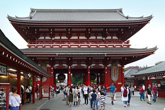 Sensō-ji.     Asakusa  Tokyo. (Bernard Spragg) Tags: sensōjishrine japan tokyo asia temple travel lumix
