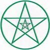 Pentagram mystica (Astronira) Tags: pentagram pentacle star fivepointed pentagonal stellar mystical magic pattern symmetric symmetrical symmetry geometric geometrical wye abstract abstraction astronira graphic design digital decorative image drawing illustration openwork sorcery wizardry enchantment occultism ritual rite