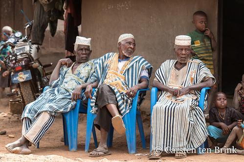 Village dignitaries