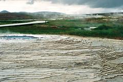 Iceland Adventures ! (Hëllø i'm Wild) Tags: analog film 35mm canonae1 iceland travel trip nature outdoor hike adventures icelandadventures hveravellir solfataras kodakgold200