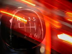 Rush hour (BeMo52) Tags: traffic verkehr schaltknauf gearleverknob schaltung fahrradrücklicht bicyclerearlight macromondays car auto transportation speed makro macro movement bewegung