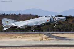 Japan Air Self Defence Force, McDonnell Douglas F-4EJ Kai Phantom II, 97-8426. (M. Leith Photography) Tags: mark leith photography japan japanese self air defence force jasdf mcdonnell douglas phantom f4 ibaraki hyakuri sunshine base fighter nikon d7000 d7200 70200vrii 300mmf4 nikkor asia flying military sky building airplane aircraft cockpit