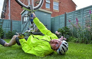 Bike fall: after Randy Mick