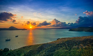 Sunrise in Pulau Padar