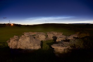 Noctilucent over the Hoodoos