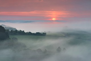 *misty sunrise*