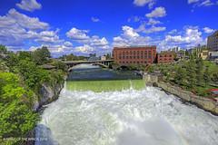 Spokane Falls (jimgspokane) Tags: spokanewashingtonstate spokaneriver spokanefalls rivers waterfalls otw today´sbest