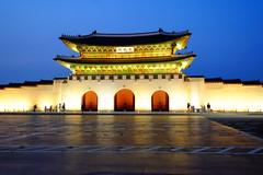 Gyeongbokgung Palace Gate in Seoul, South Korea (` Toshio ') Tags: toshio gyeongbokgung palace gyeongbokpalace gyeongbokgungpalace seoul southkorea korea gate architecture asia asian