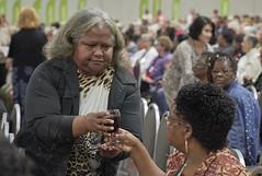 Communion at UMW Assembly 2018 (UMWomen) Tags: unitedmethodistwomen columbus ohio umw assembly2018 unitedmethodistchurch umwassembly2018 woman women worship eucharist communion chalice juice bread unitedstates usa