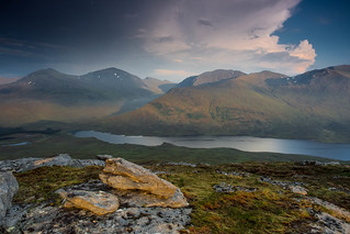 From Meall An T-Sithe.