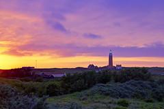 Daily battle for light (Anita van Rennes) Tags: sunset lighthouse zonsondergang vuurtoren