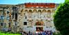 Split: Diocletian Palace east gate (ARKNTINA) Tags: split splitcroatia dalmatia europe croatia hr18 eur18 random6 building architecture walledtown romantown romanpalace palace diocletianpalace diocletian unesco unescoworldheritage unescoworldheritagesite historicalcomplexofsplitwiththepalaceofdiocletian citywalls citygate