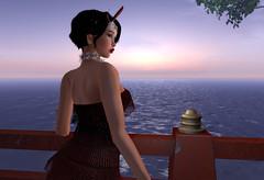 Suzu visits Mooncake (Alea Lamont) Tags: ndmd suzu asian skins vintage fair vista bento head diana japanese teenager chinese woman girl thai female korean shapes 1920 maitreya body iconic betti hair narcisse jean dress flapper