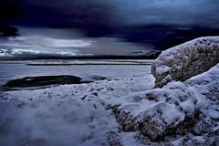 Lake Huron, Sarnia, Ontario, Canada, North America (Photographer South Florida) Tags: frozan lake winter lakehuron sarnia ontario canada northamerica frozenlake water cold shoreline rocks