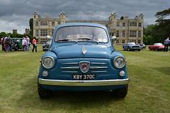 Small Car, Big House (davidvines1) Tags: car automobile fiat fiat600 giannini audleyend