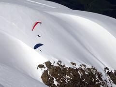 Parapente à la Jungfrau (JMVerco) Tags: parapente paraglider parapendio neige snow neve montagne mountain montagna sport suisse switzerland swizzera