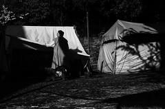 awaken street (Georgie Pauwels) Tags: street streetphotography shadows light sunlight morning moment candid unposed fujifilm tent
