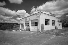 Esso BW (Bob G. Bell) Tags: esso servicestation gasstation bobbell greenbrier wv westvirginia