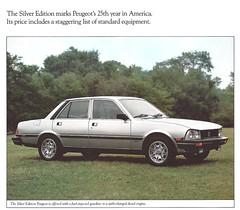 1982 Peugeot 505 (Hugo-90) Tags: peugeot car auto voiture ads advertising brochure automobile 1982 505