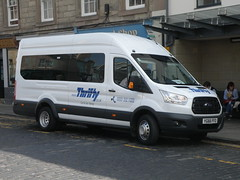Ford Transit - YG66FFO - Scottish Borders Council (cessna152towser) Tags: minibus fordtransit kelso
