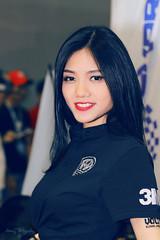 Lam Cam My at MTS 2017 (jkharryhuy) Tags: lam cam my motorshow 2017 bike paint girl long hair portrait
