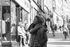 Window Shopping (Cycling Road Hog 2018) Tags: candid canoneos750d ef50mmf18stm edinburgh edinburghstreetphotography fashion lady niftyfifty scarf scotland street streetphotography streetportrait style woman