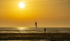 sky dancer (Wöwwesch) Tags: sunset kitesurfers waves ocean colors sand friends silhouettes innamoramento