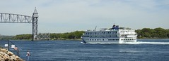 "The Cruse ship ""Independence"" in the Cape Cod Canal (JBPTrains2012) Tags: canal cod cape massachusetts"