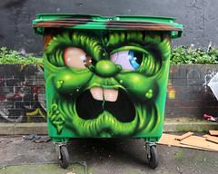 Bin No. 3 (scats21) Tags: streetart graffiti bin