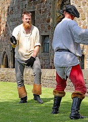 The Red Wyverns at Skipton Castle (grab a shot) Tags: canoneos5dmarkiv canon eos 5d britain uk england northyorkshire skipton skiptoncastle 2018 heritage medieval castle 1460 henryvi lordjohnclifford redwyvernsociety historical reenactment warsoftheroses hundredyearswar fifteenthcentury livinghistory war man soldier military fighting