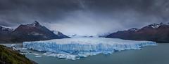 Glaciar Perito Moreno (Mauro Esains) Tags: glaciar perito moreno el calafate parque nacional los glaciares hielo frio tormenta nieve otoño montañas lago argentino bosque agua nubes cielo paisaje santa cruz patagonia