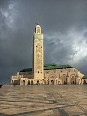 Hassan II Mosque (ShaneSinclair) Tags: hassan mosque casablanca morocco minaret cloud islam maroc